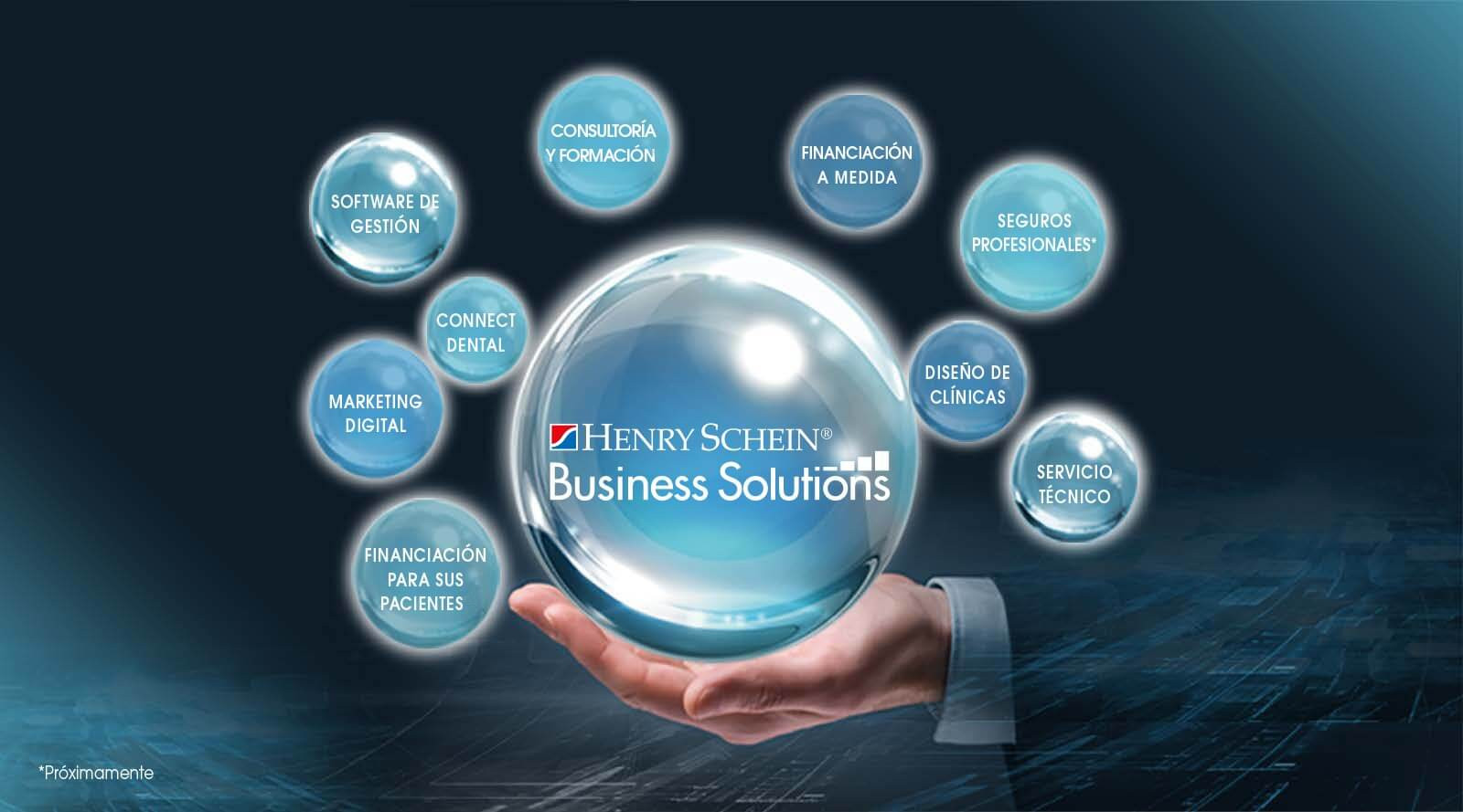 Servicios en Business Solutions